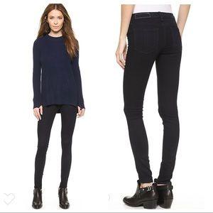 Rag & bone Midnight Wash Legging Jean